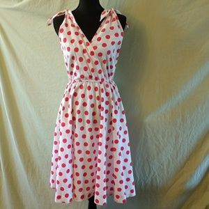 Vintage polkadot dress